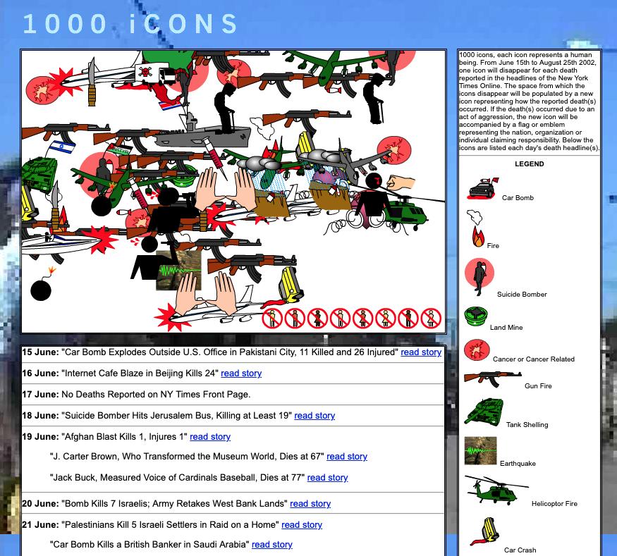 1000icons screenshot by ricardo