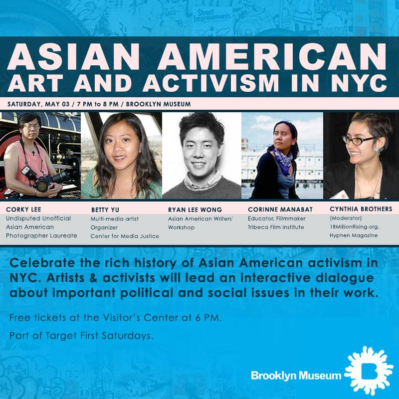 Asian American and Activism Flyer