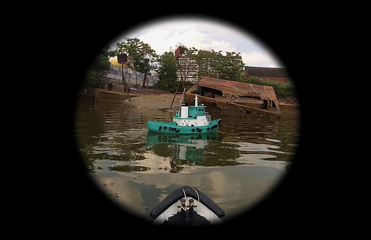 Photograph of a boat regarding Remote Voyages
