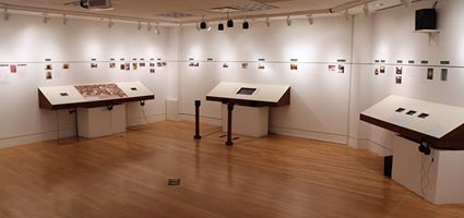 photo of Andrew Demirjian's exhibit