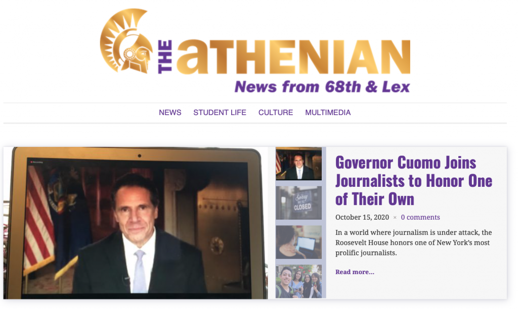Athenian October issue