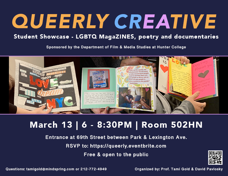 Queerly Creative Poster