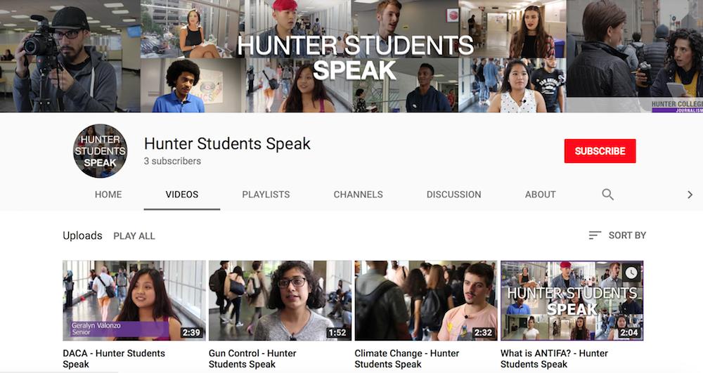 Hunter Students Speak