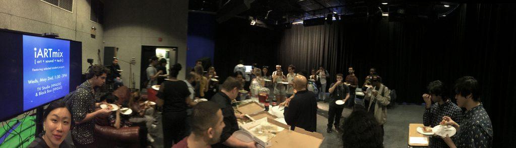 Photo of iARTMix show