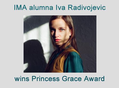 IMA alumna Iva Radivojevic receives 2017 Special Project Award