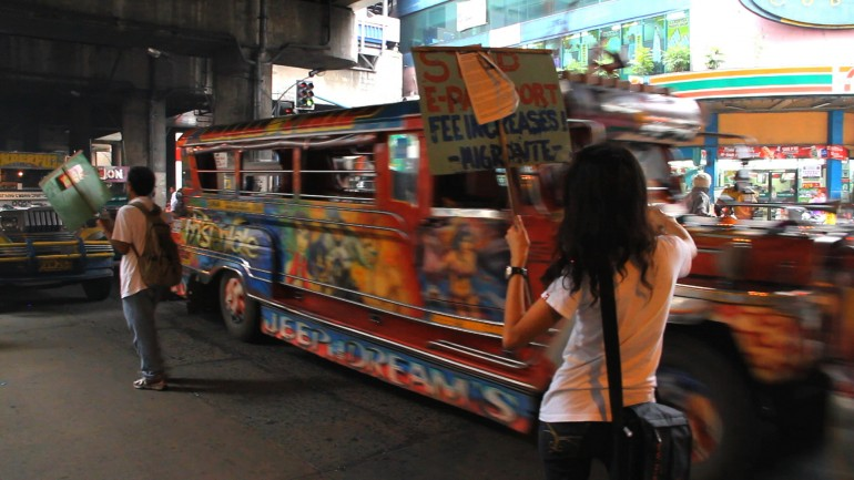 Image from Jeepney Short Film