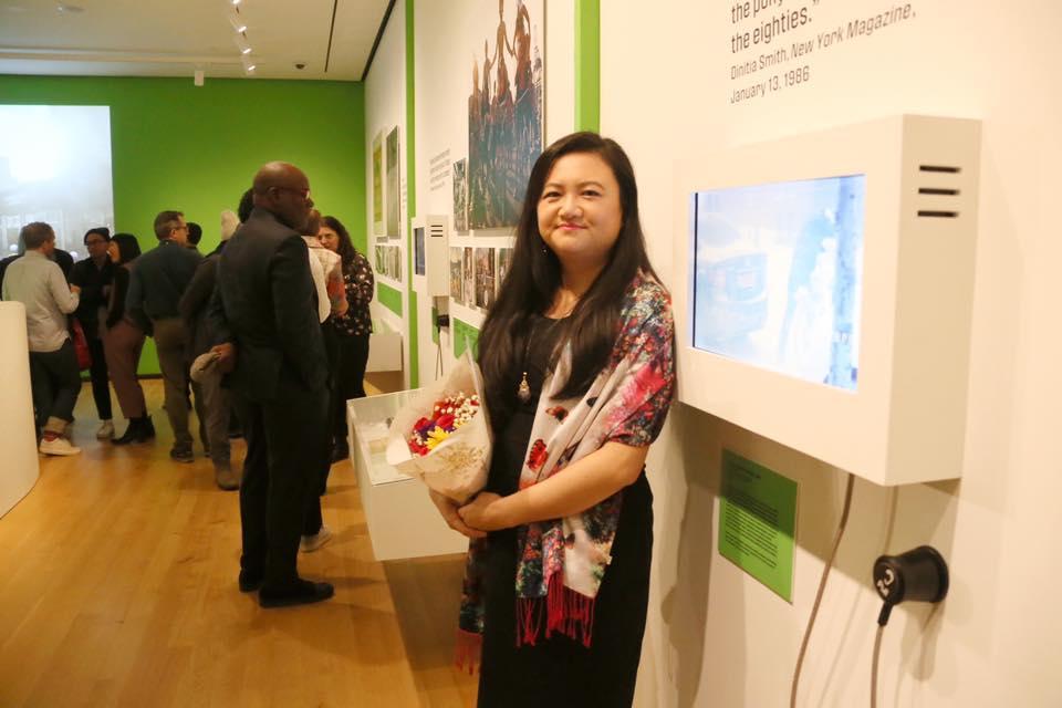 Jing Wang at MCNY