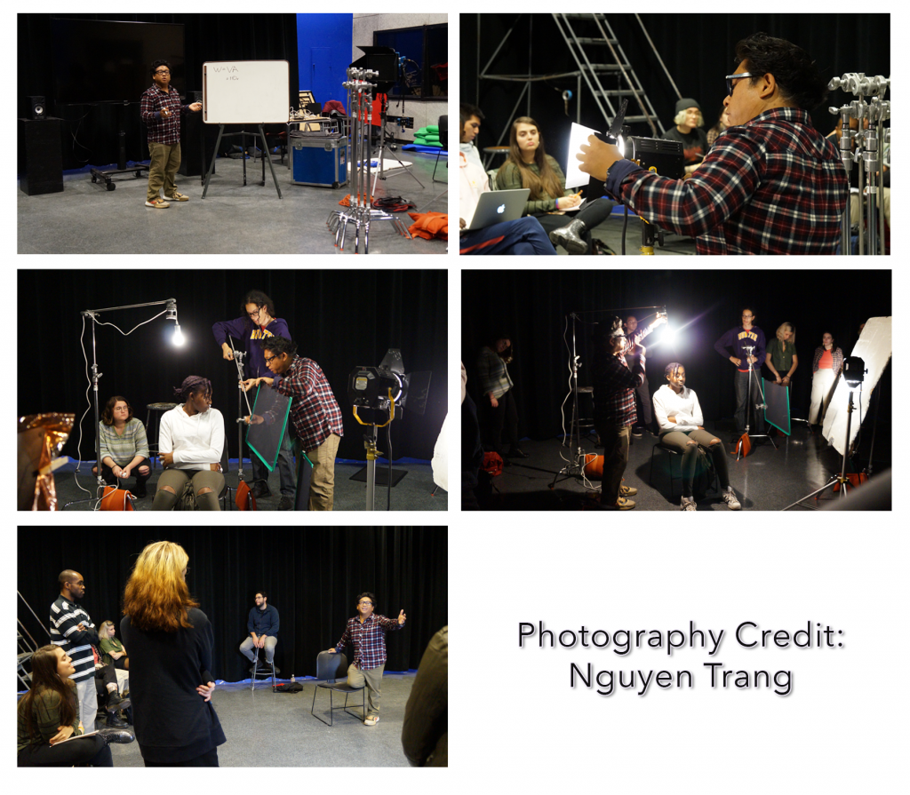 Lighting Workshop Pictures - Photos by Nguyen Trang