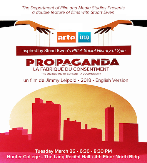 Propaganda Poster Tues March 26th screening