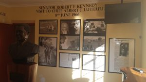 RFK Luthuli exhibit