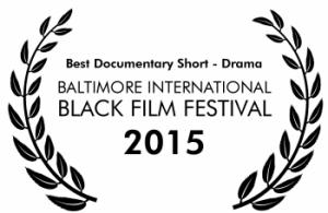 Seyi_BIBFF BEST DOCUMENTARY SHORT_DRAMA LAUREL_2015