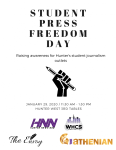 student press poster