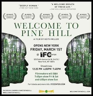 'Welcome to Pine Hill' poster
