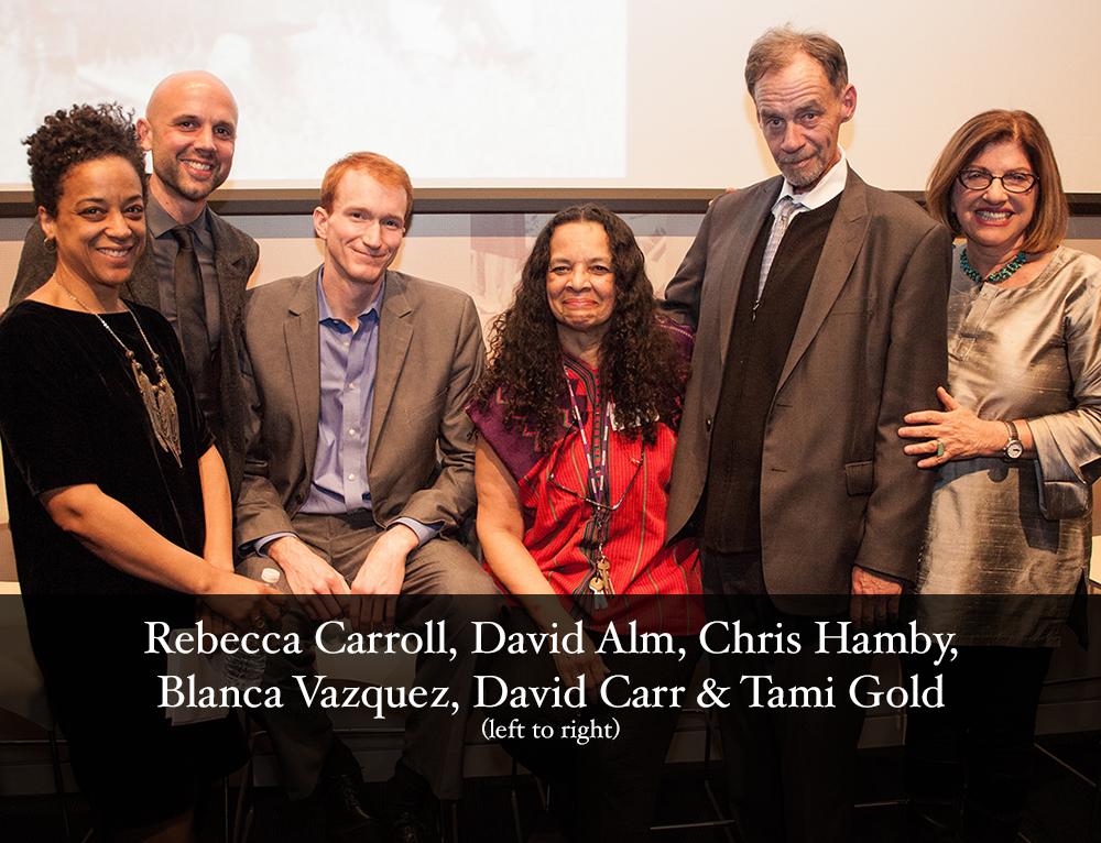 Picture of Rebecca Carroll, David Alm, Chris Hamby, Blanca Vasquez, David Carr & Tami Gold