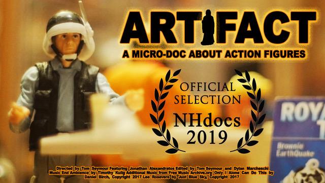 Artifact short doc poster