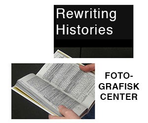 Post for Rewriting Histories exhibition