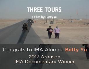 IMA alumna Betty Yu – Aronson IMA Documentary Winner