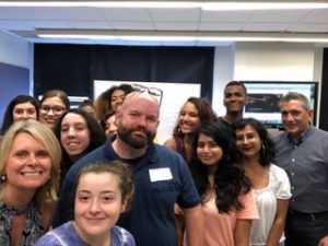 students and CNN Jonathan O'Beirne