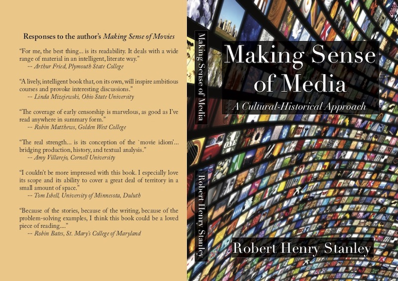 Making Sense of Media book front and back covers
