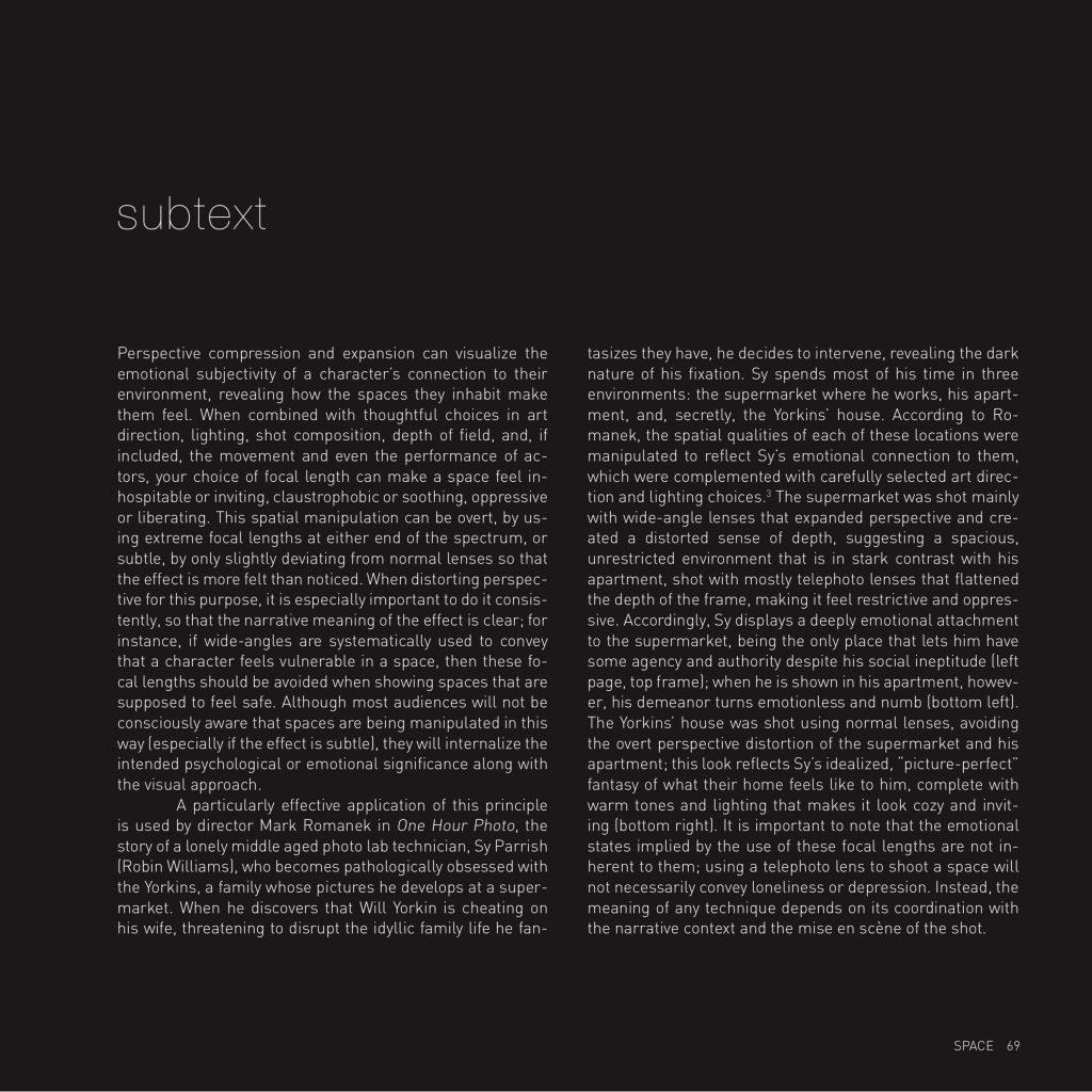 """gustavo book excerpt """"Subtext"""""""