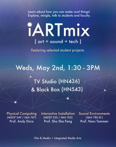 iARTmix 2018 poster
