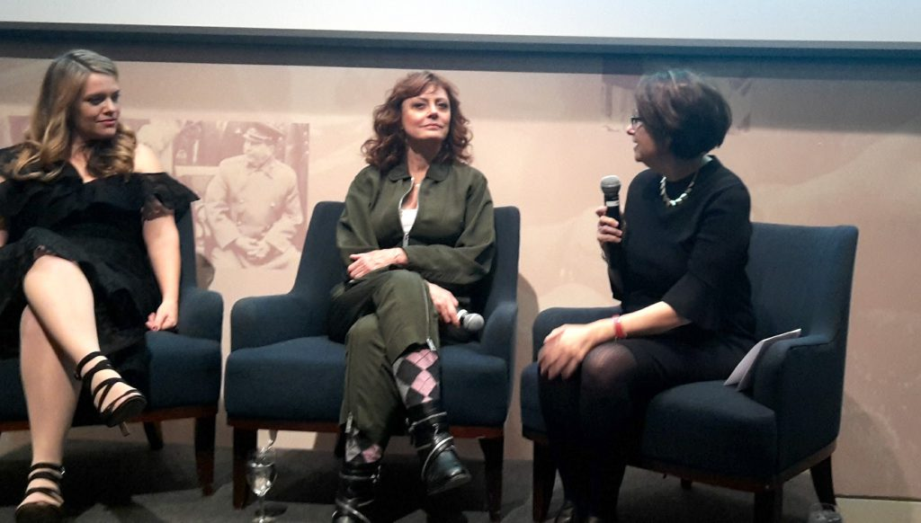 Alex Dean with Susan Sarandon