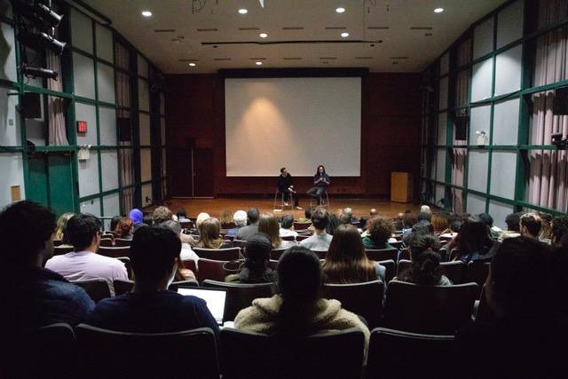 lang auditorium audience view