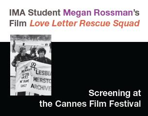 IMA student Megan Rossman's film screening at Cannes!