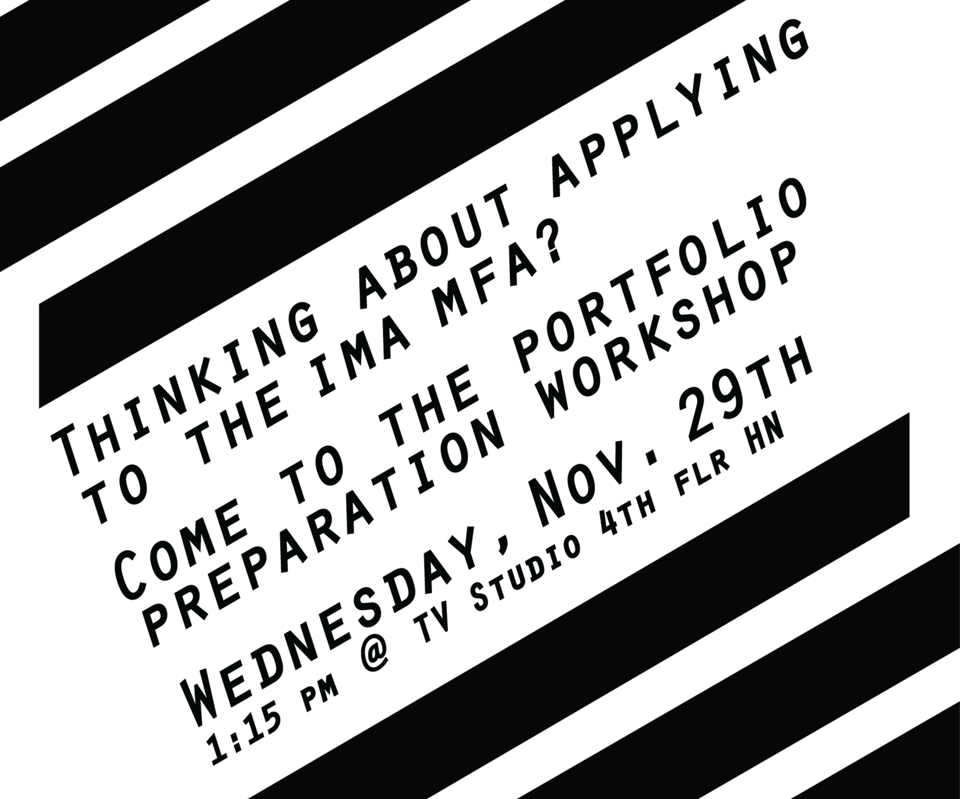 Thinking about applying to the IMA-MFA?