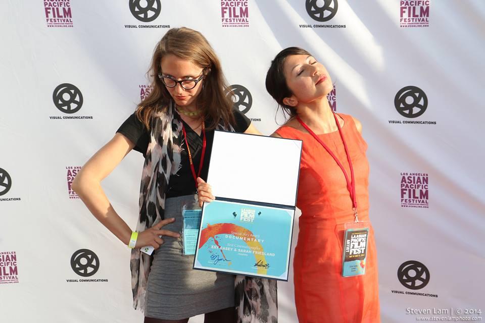 Image of IMA alumnae Sarah Friendland and Esy Casey