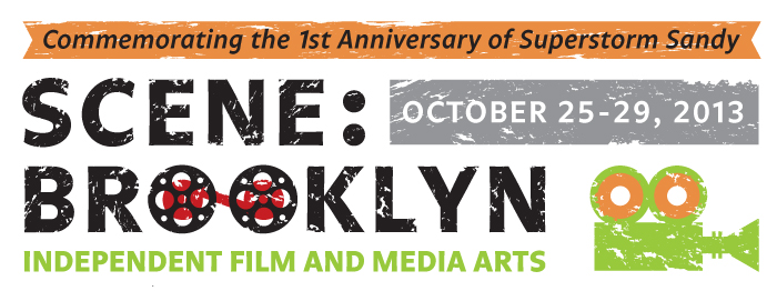Scene: Brooklyn logo and blurb