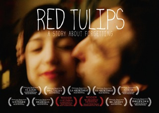 movie poster for 'Red Tulips'