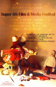 flyer for Super 68th Film & Media Festival