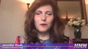 HNN Interview With President Jennifer Raab 0-14 screenshot