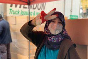 Ramadan worker