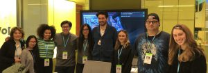 Students tour Bloomberg News