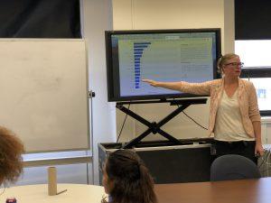 Web editor Coralie Carlson of WNBC