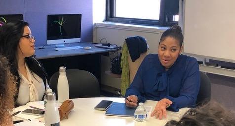 Ivette Davila-Richards offers her expertise to 'Hunter News Now' team.