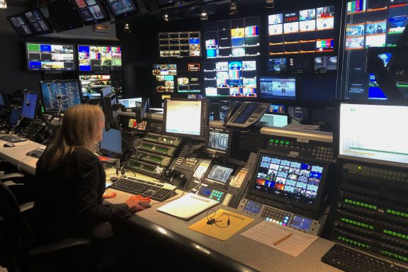 Control room at ABCNews