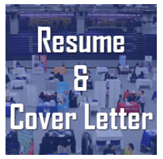 Hunter resume & cover letter graphic