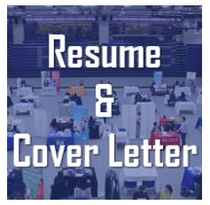 Hunter resume & cover letter graphic