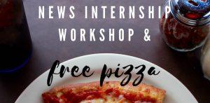 Internship workshop flyer