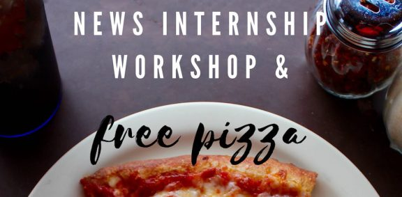 Internship workshop flyer