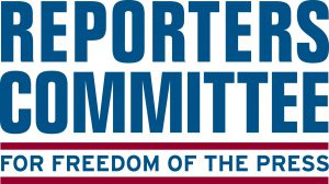 Logo for Reporters Committee for Freedom of the Press