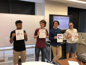 Students take part in editorial judgment exercise